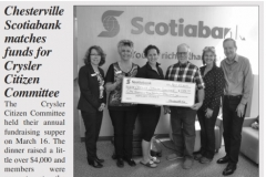3.  The Chesterville Record April 25, 2018